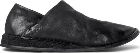 Marsell Stag Collapsible-Heel Leather Loafers