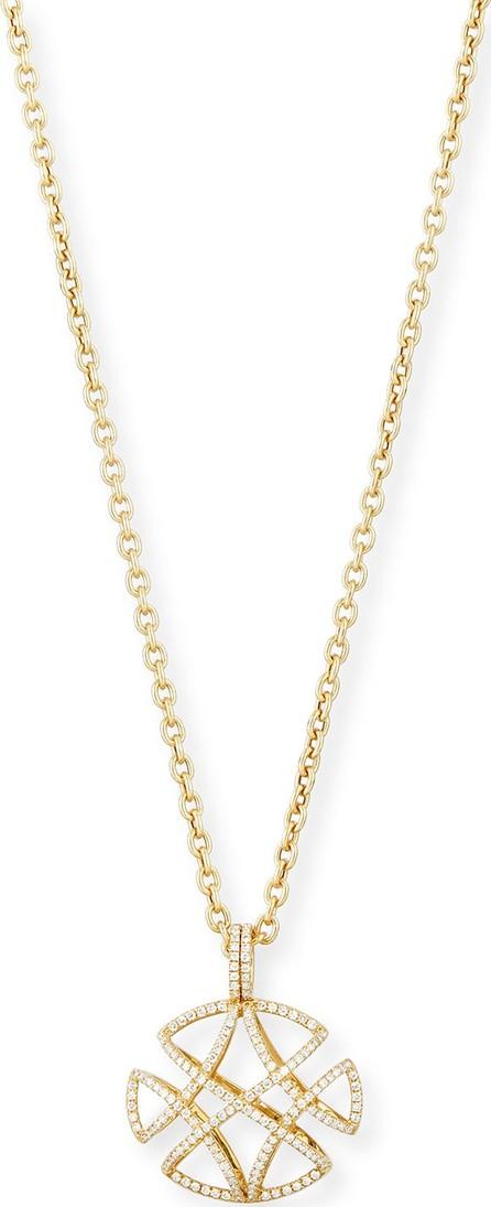 """Goshwara Freedom Pave Diamond Pendant Necklace, 30""""L"""