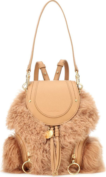 See By Chloé Shearling backpack