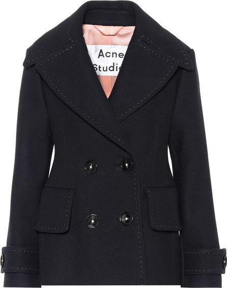 Acne Studios Cheye T melton wool coat