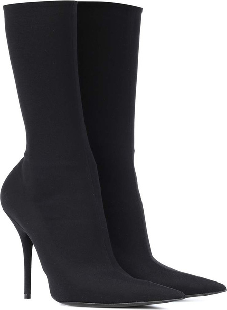 Balenciaga Knife stretch-jersey ankle boots