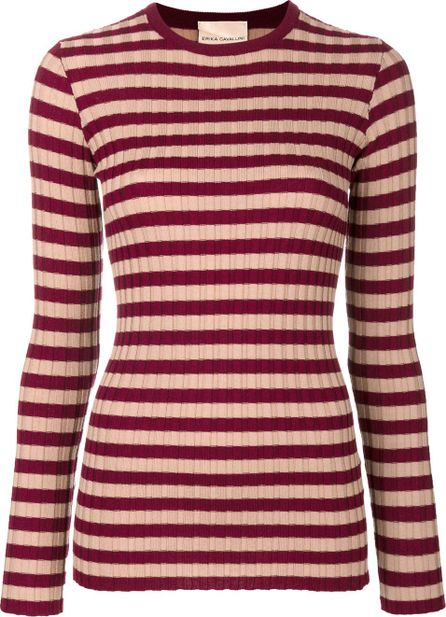 Erika Cavallini knitted striped top
