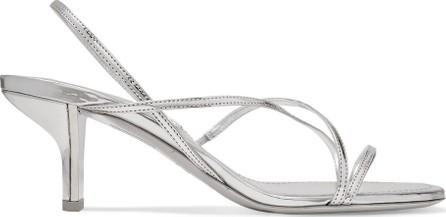 Nicholas Kirkwood Leeloo metallic leather slingback sandals