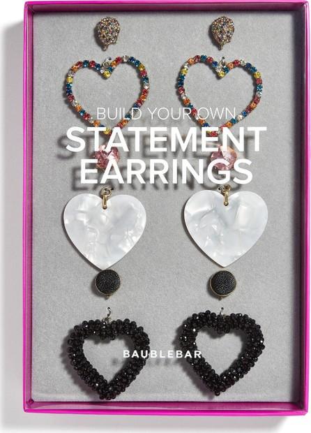 BAUBLEBAR Heart Statement Earrings Gift Set