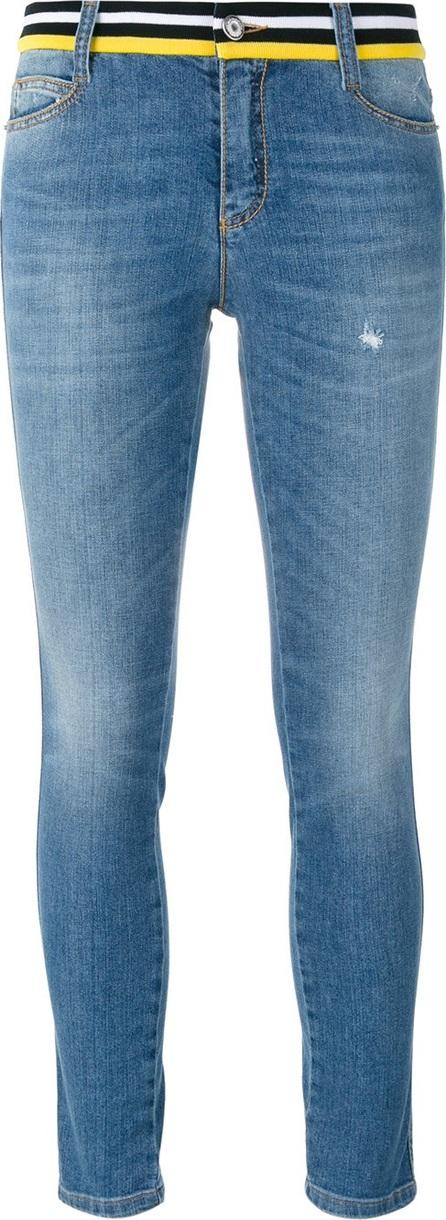 Ermanno Scervino embellished back skinny jeans