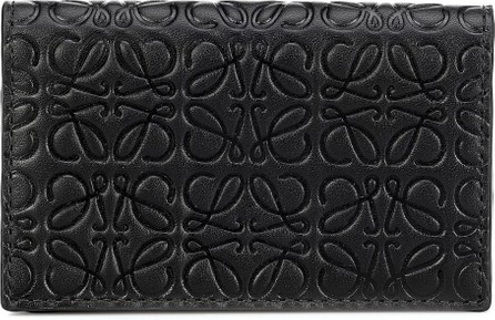 LOEWE Anagram embossed leather wallet