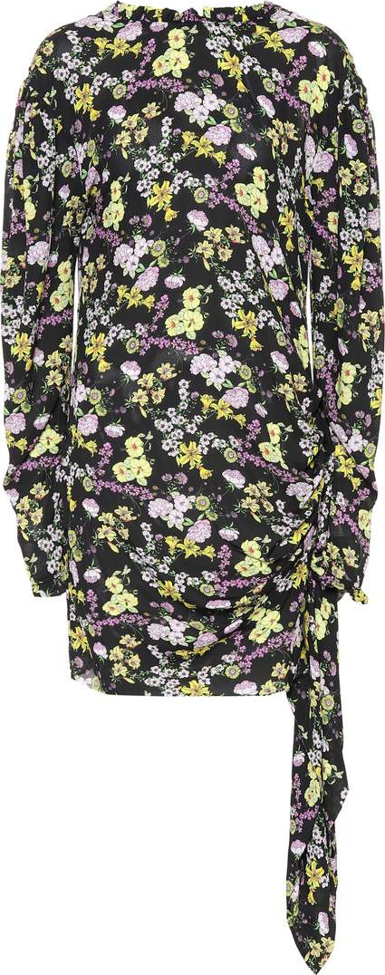 Magda Butrym Torrance floral silk dress