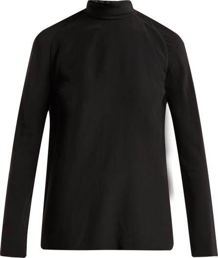 Haider Ackermann Sapphirine silk blouse
