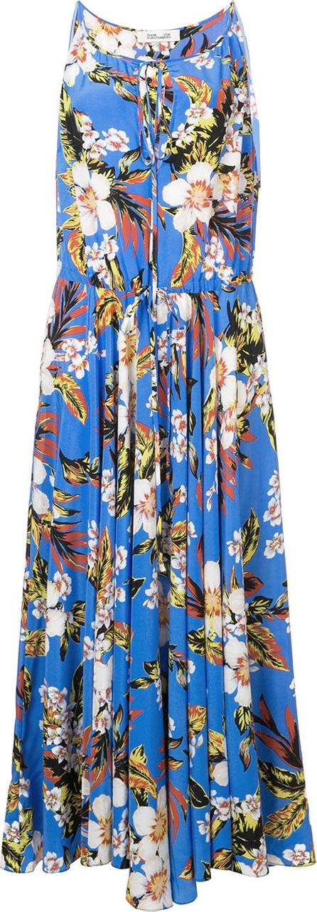 DIANE von FURSTENBERG Keyhole floral dress
