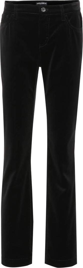 Dolce & Gabbana Flared cotton pants