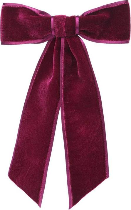 Jennifer Behr Velvet bow barrette