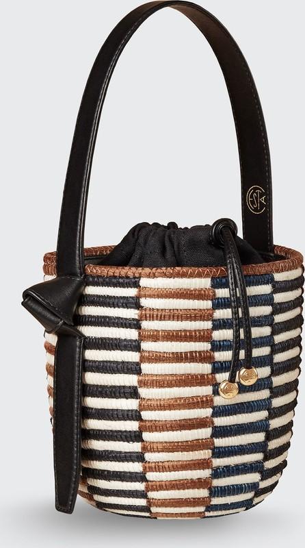 Cesta Collective Checkerboard Lunch Pail Bucket Bag