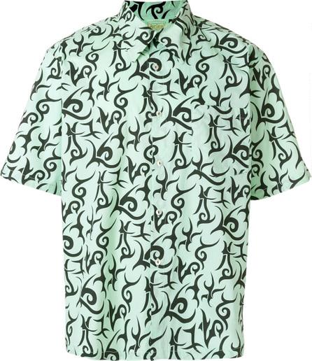 Aries Geometric pattern shirt