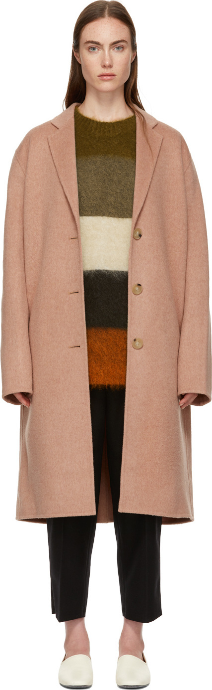 Acne Studios Pink  Avalon Coat
