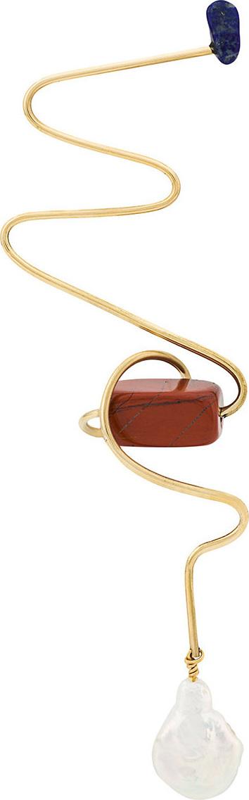 Roksanda Abstract twist earrings