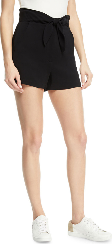 A.L.C. Kerry High-Waist Tie-Front Shorts