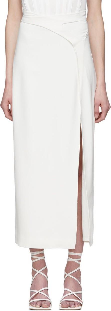 Dion Lee White Interlock Skirt