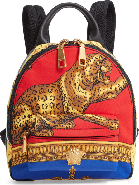 Versace Mini Palazzo Pillow Talk Nylon Backpack