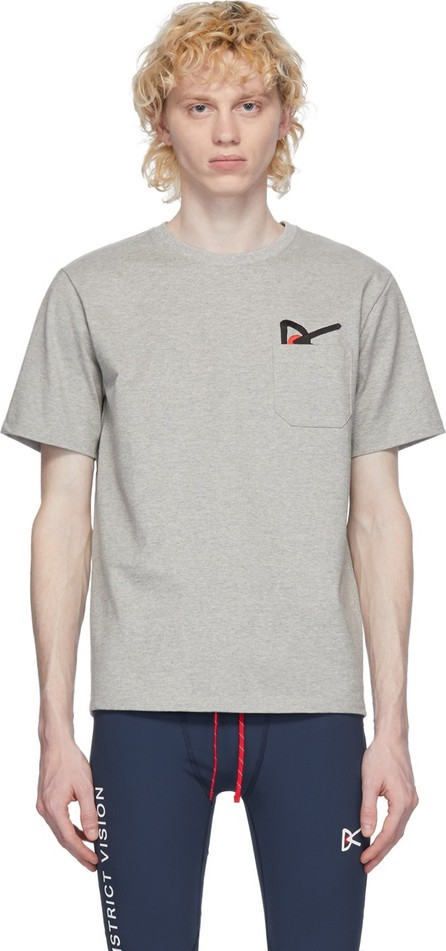 District Vision Grey Intoku Slow T-Shirt