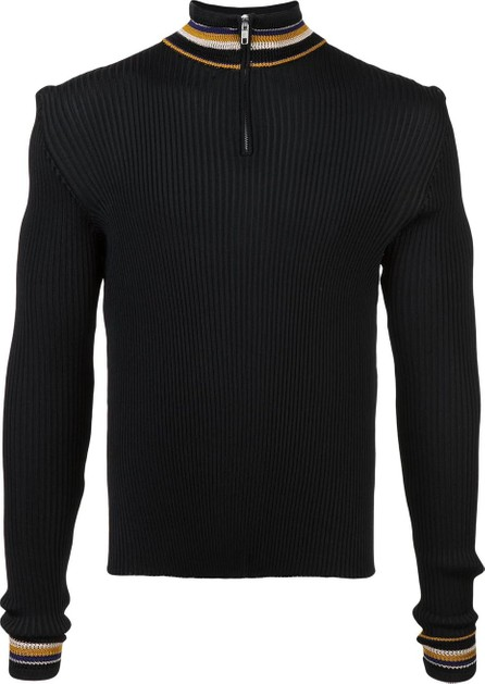 Wales Bonner striped detail jumper