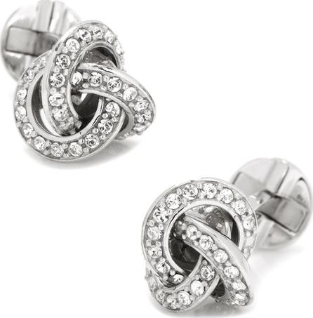 Cufflinks Inc. Crystal-Inset Love Know Cuff Links