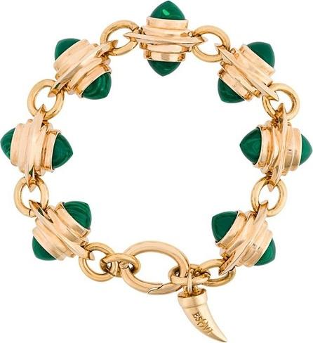 Eshvi faux malachite bracelet
