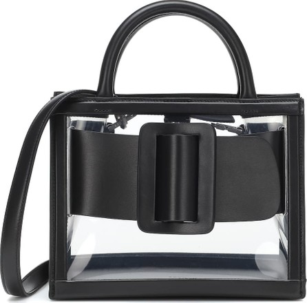 BOYY Bobby 23 PVC and leather tote