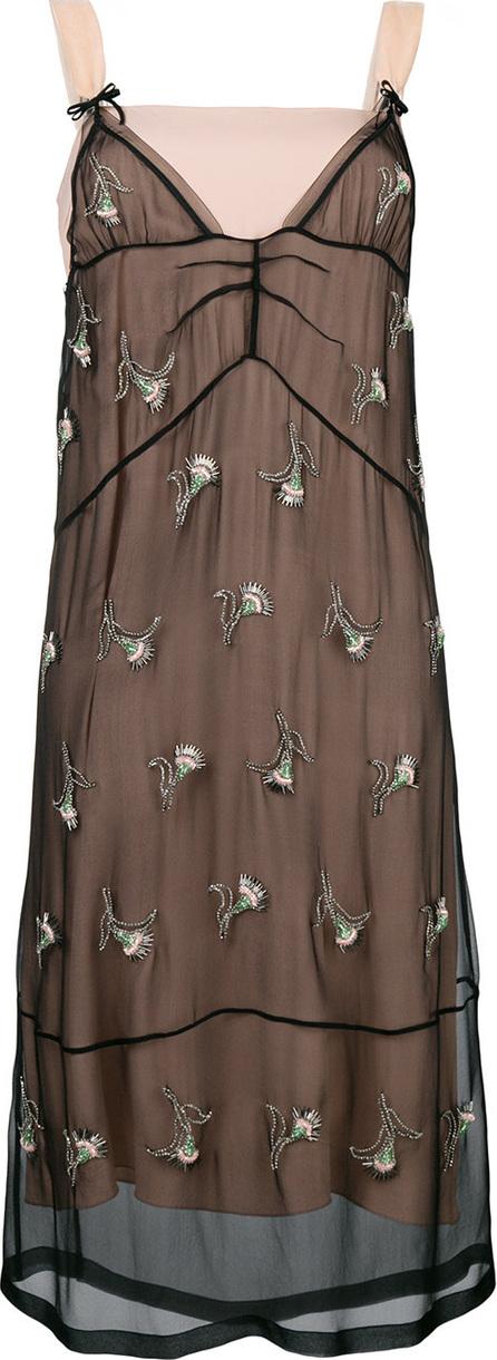 Nº21 Embellished sleeveless dress