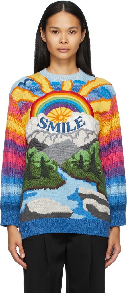 Stella McCartney Multicolor Intarsia Kind Sweater