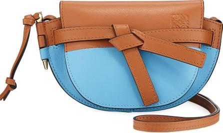 LOEWE Gate Mini Colorblock Crossbody Bag