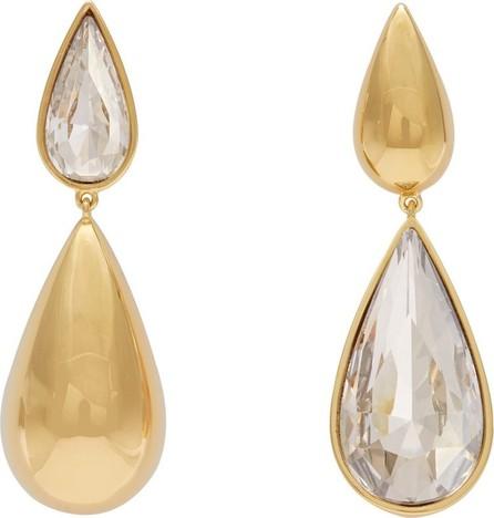 Ryan Storer Hidden Tear crystal-embellished earrings