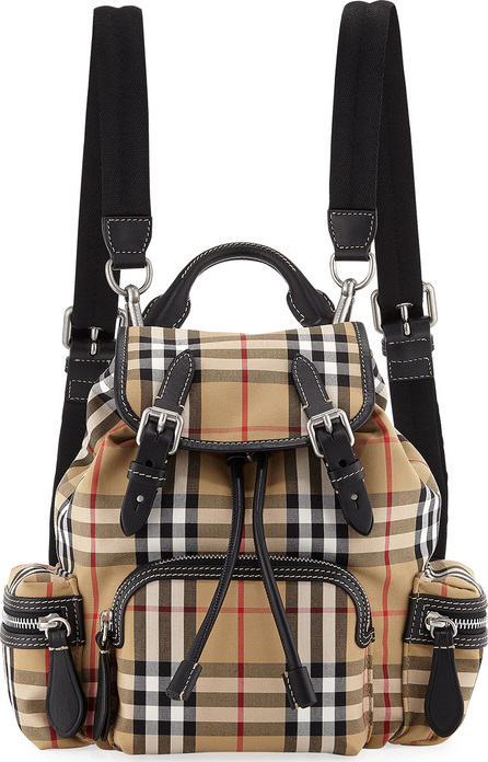 Burberry London England Rucksack Small Vintage Sailing Canvas Backpack