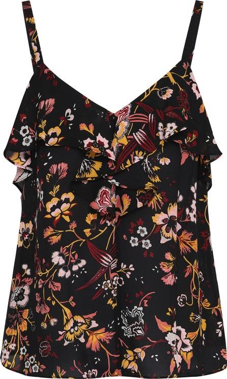 A.L.C. Floral-print silk crepe de chine camisole