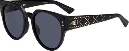 Dior Oversized Logo Sunglasses