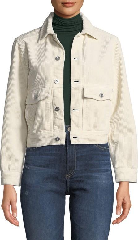 AG Jeans Evonne Button-Front Corduroy Jacket
