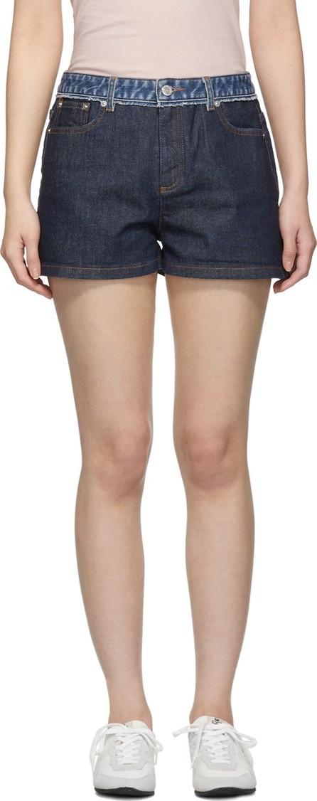 A.P.C. Indigo High Standard Shorts