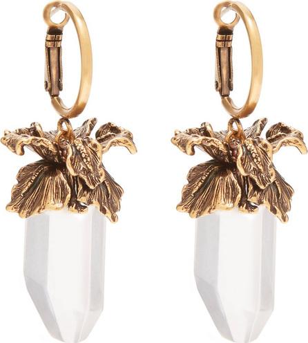 Alexander McQueen Iris pendant drop earrings