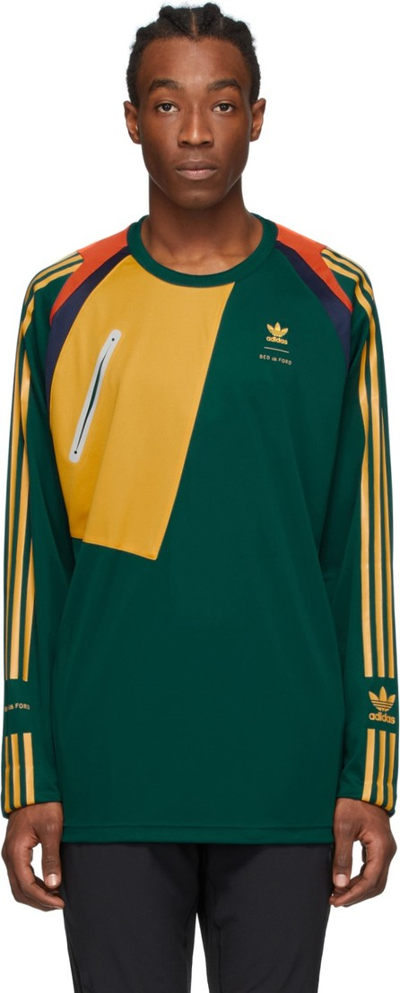 BED J.W. FORD Green adidas Originals Edition Game Jersey T-Shirt