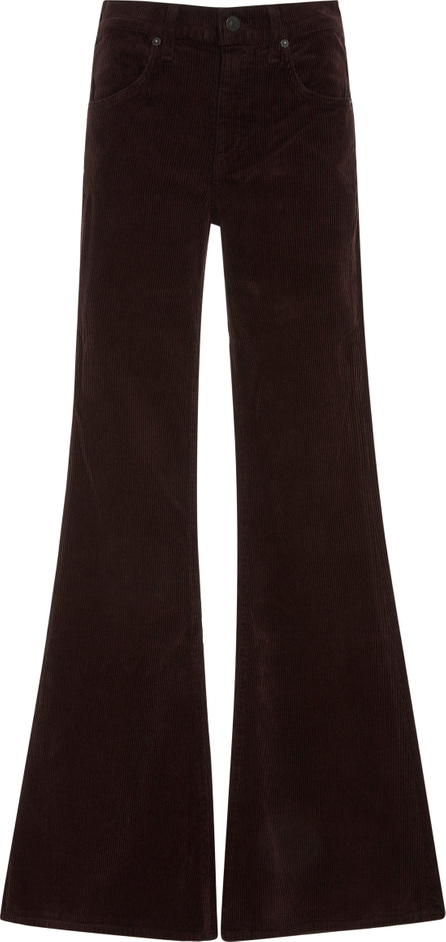 Citizens Of Humanity Chloe Corduroy Mid-Rise Flared Pants
