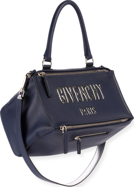 Givenchy Pandora Medium Logo Bubble Satchel Bag