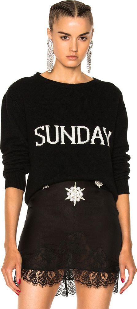 Alberta Ferretti Sunday Crewneck Sweater