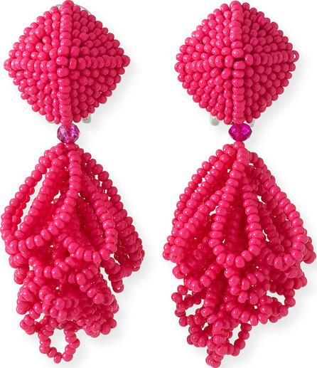 Sachin & Babi Mini Lulu Seed Bead Clip-On Earrings