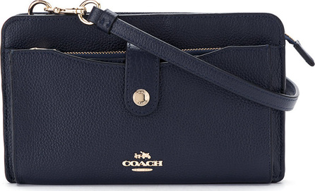 COACH Bolsa de couro 'Pop Up Messenger'