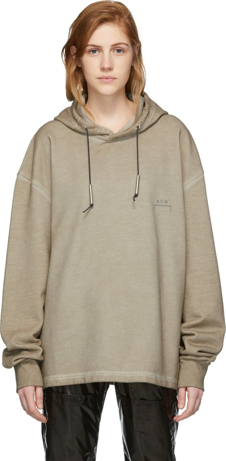 A-Cold-Wall* Taupe Bracket Basic Hoodie