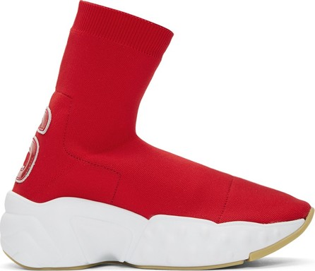 Acne Studios Red Knitted Sock Sneakers
