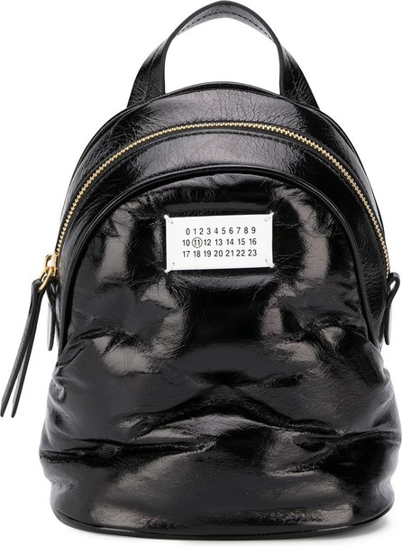 Maison Margiela Small patch detailed backpack