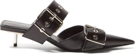 Balenciaga Belt buckle 40mm leather stiletto mules