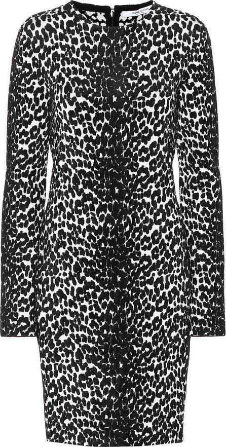Givenchy Leopard jacquard dress