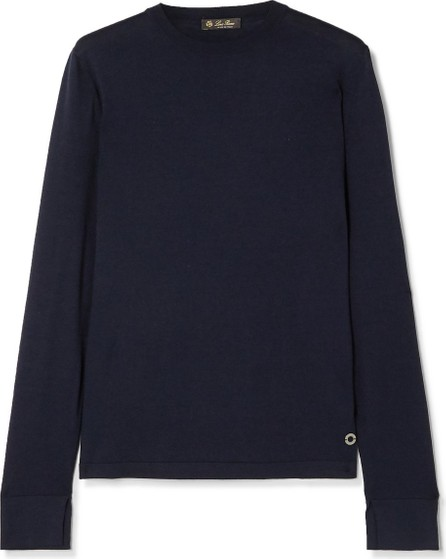 Loro Piana Silk and cotton-blend sweater