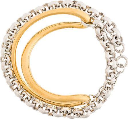 Charlotte Chesnais Initial chain bracelet